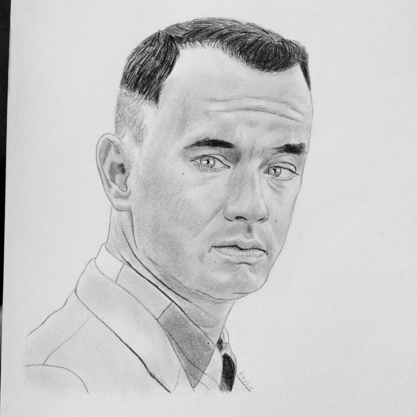 Tom Hanks by kevinlakers2